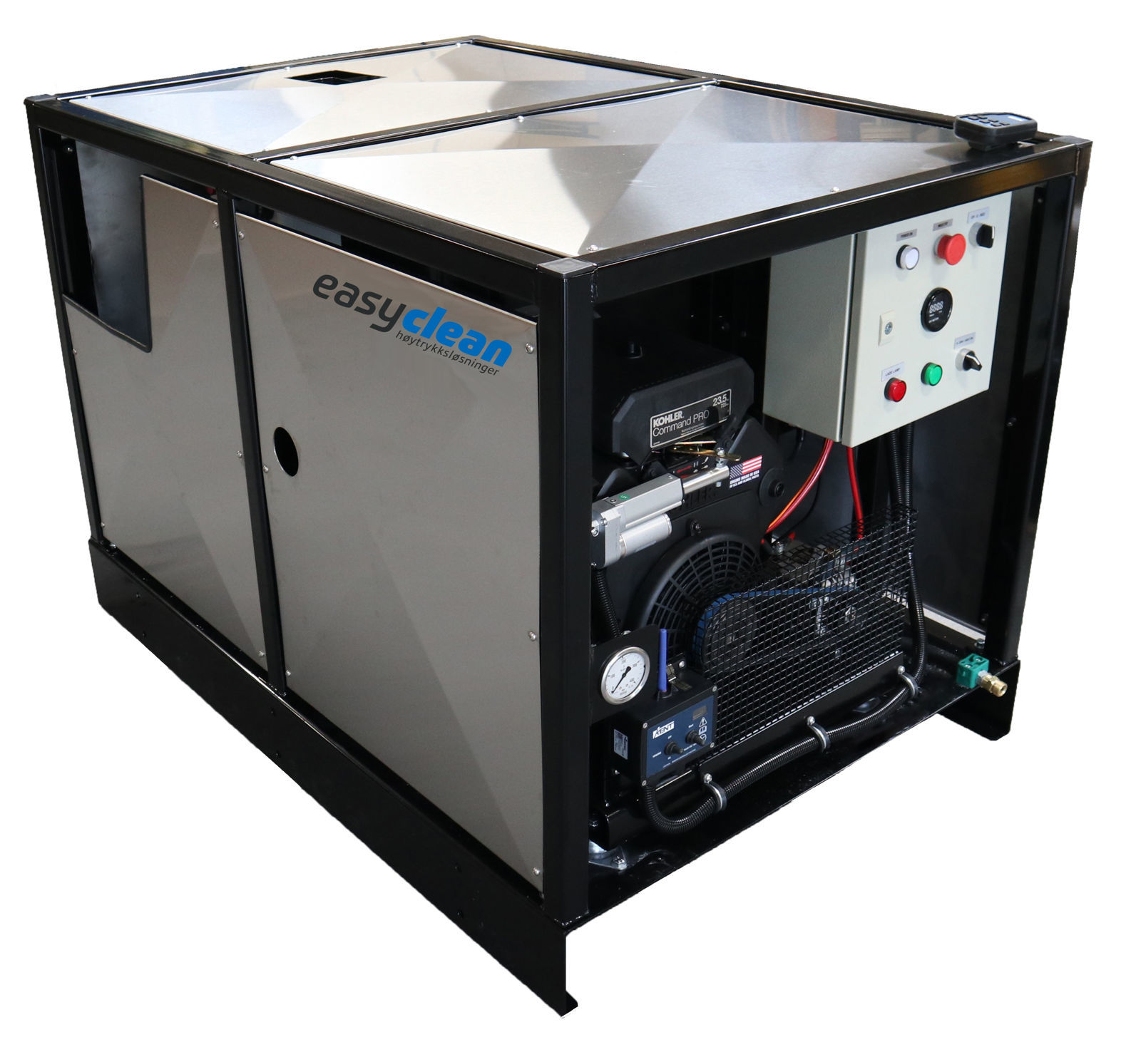 Ke Easyclean hwd3025ST stasjonær høytrykksmaskin -diesel - 25HK-3syl- 300 bar - 25ltr/min.