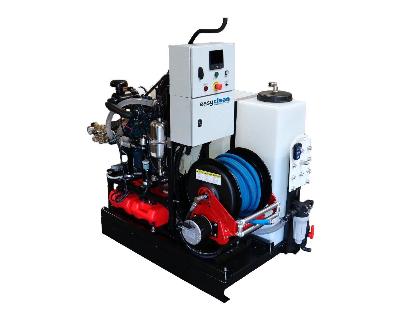 ke/Easyclean 200bar-50ltr/min -KSD2050ST.0.0.C.0.E  kloakkspyler med man.tromel-inkl. fjernstyring-diesel