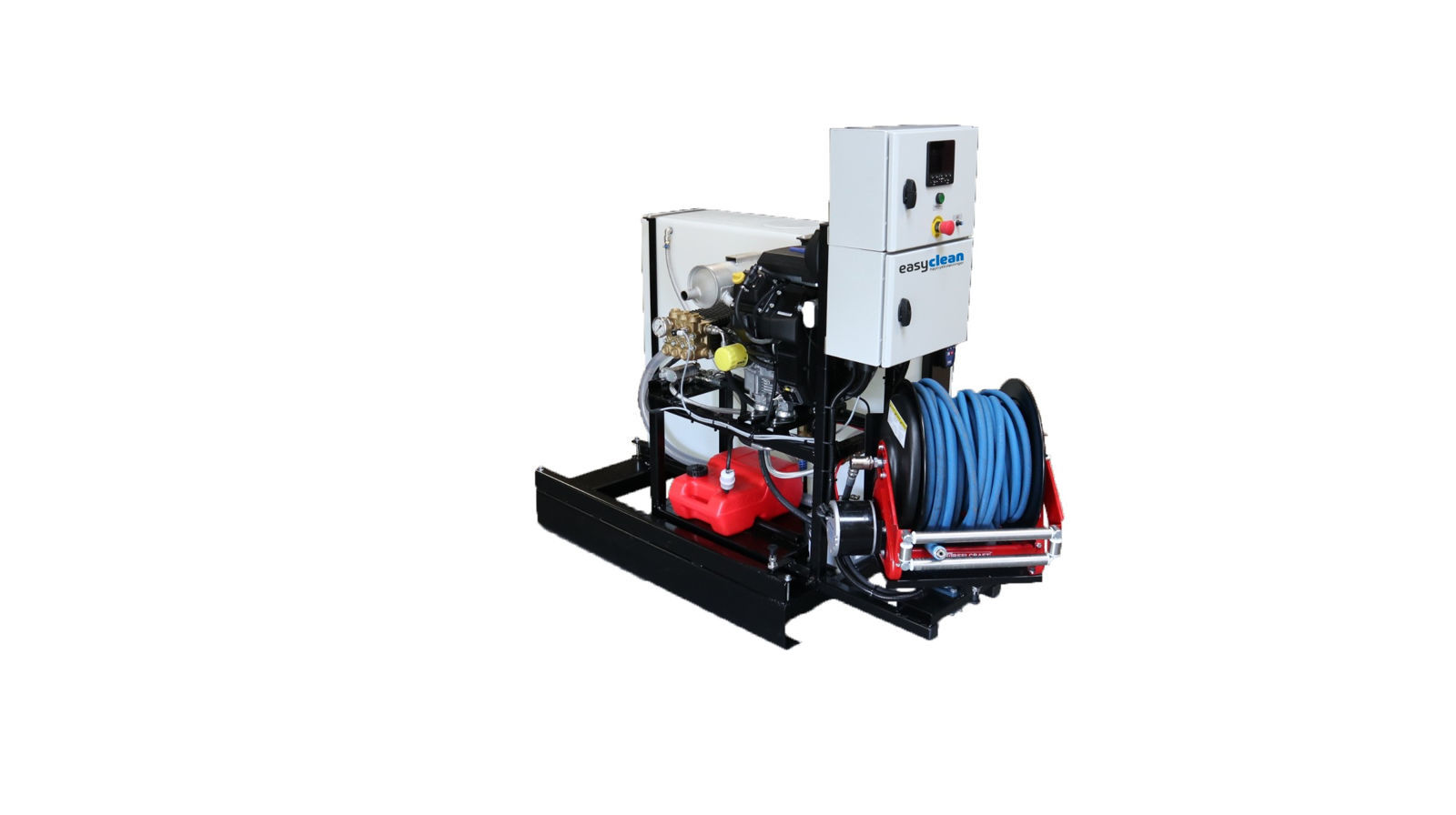 ke/Easyclean 150bar-50ltr/min -KSP1550st..1.0.b.0.g kloakkspyler med manuell  tromel-inkl. fjernstyring-liten elstyring- bensin