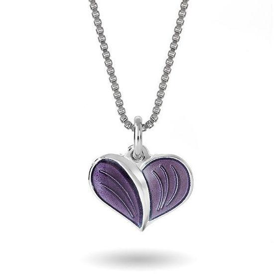 Smykke Lilla hjerte i sølv