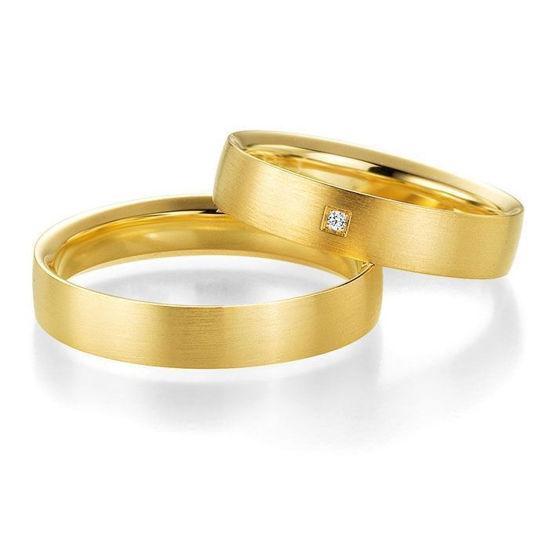 Gifteringer i gult gull 9 kt, 4.5 mm. PROFIL LIGHT - 48044180
