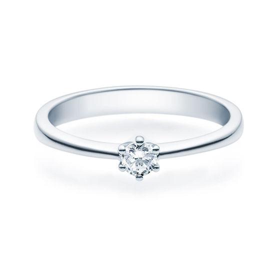 Enstens diamantring Diona Platina 950 med 0,16 ct TW-Si.Magic Moments -18001016pt