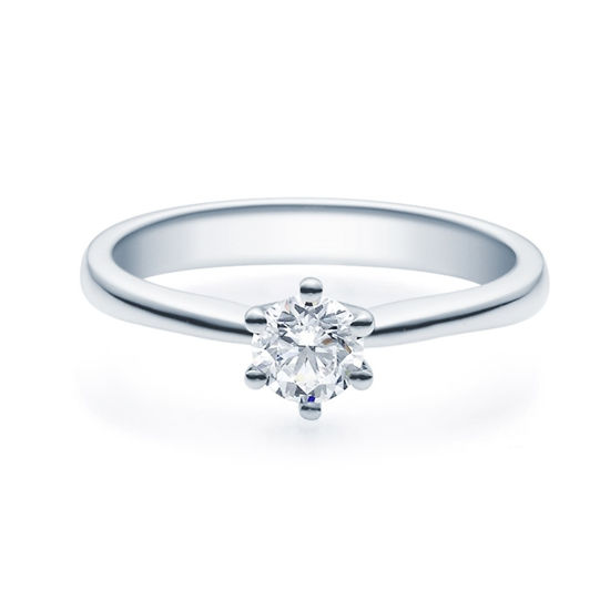 Enstens diamantring Diona 14 kt gull med 0,40 ct TW-Si.Magic Moments -18001040