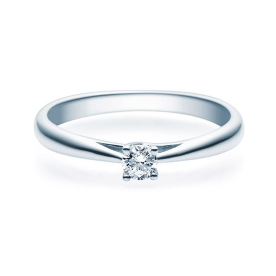 Enstens diamantring Alida Platina med 0,16 ct TW-Si.Magic Moments -18001016pt