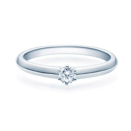 Enstens diamantring Violetta 14 kt gull med 0,16 ct TW-Si.Magic Moments -18003016