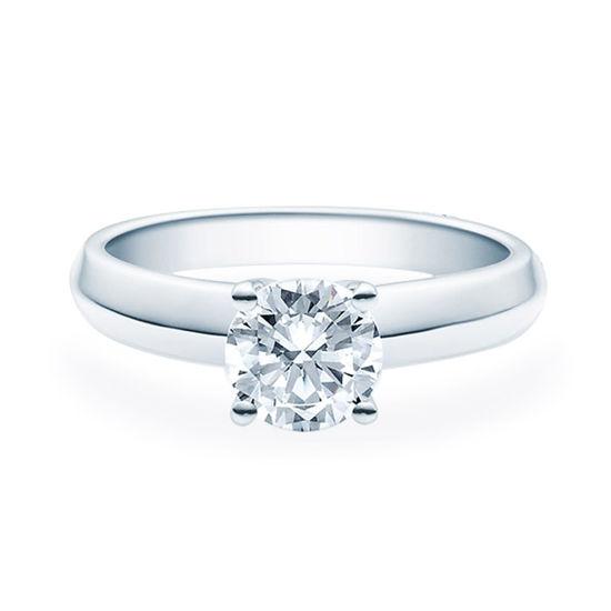 Enstens diamantring Elissa med 1,00 ct TW-Si i platina -18004100pt