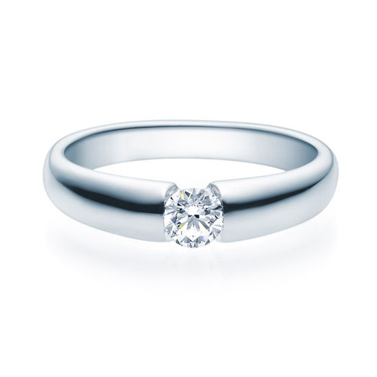 Enstens diamantring med 0,30 ct TW-Si i platina -18006030pt
