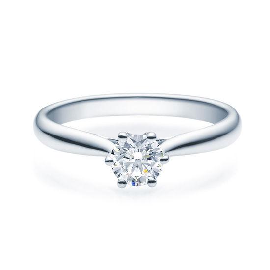 Enstens diamantring Leticia med 0,50 ct TW-Si i platina -18007050pt