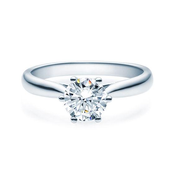 Enstens diamantring Leticia med 1,00 ct TW-Si i platina -18007100pt
