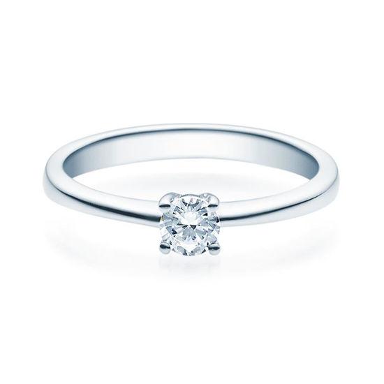 Enstens diamantring Lilya med 0,25 ct i 14kt gull. TW-Si. -18008025