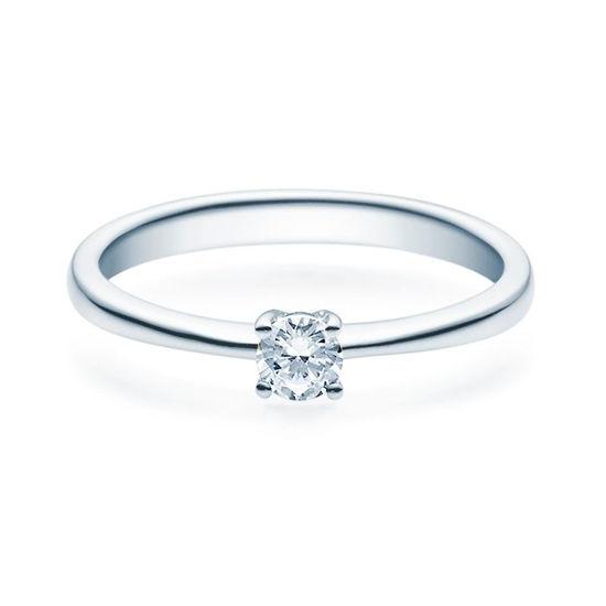 Enstens diamantring Lilya med 0,20 ct TW-Si i platina -18008020pt