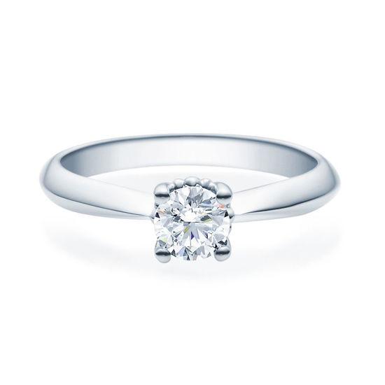 Enstens diamantring Naima med 0,50 ct i 14kt gull. TW-Si. -18009050
