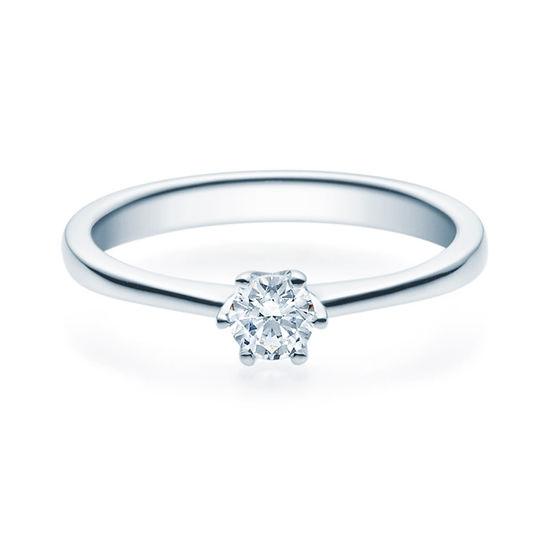 Enstens diamantring Aida med 0,25 ct TW-Si i platina -18016025pt