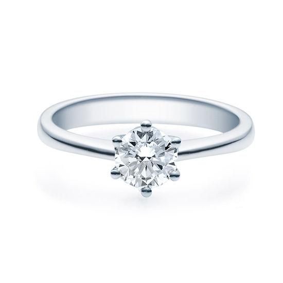 Enstens platina diamantring Diona med 0,70 ct TW-Si.-18001070pt