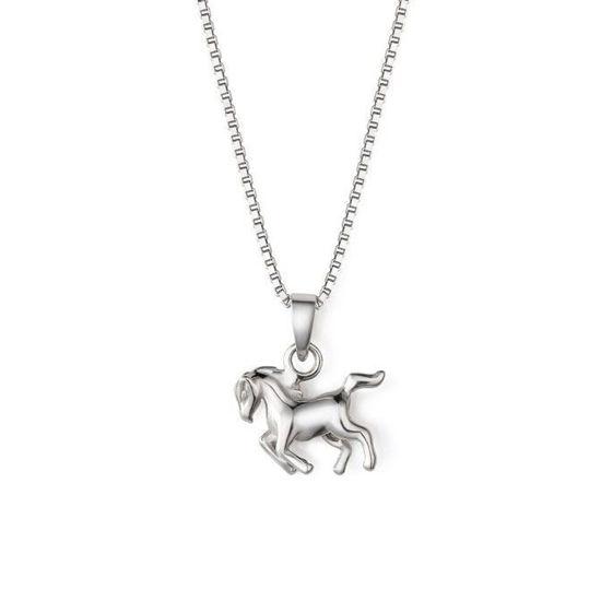 Smykke i sølv. Hest - 64058