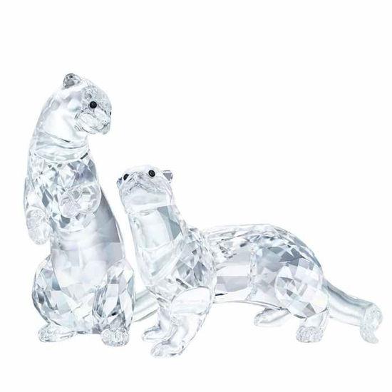 Swarovski figurer. Otters - 5385060