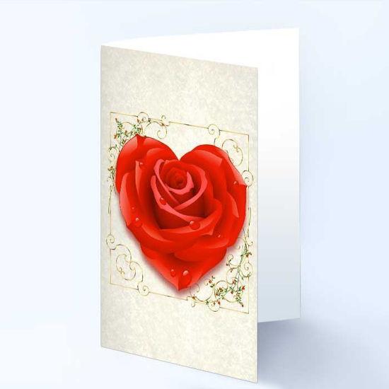 Gratulasjonskort med hjertemotiv - 181024
