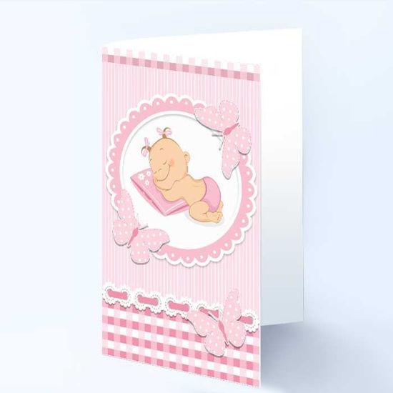 Dåpskort til jente  - 181025