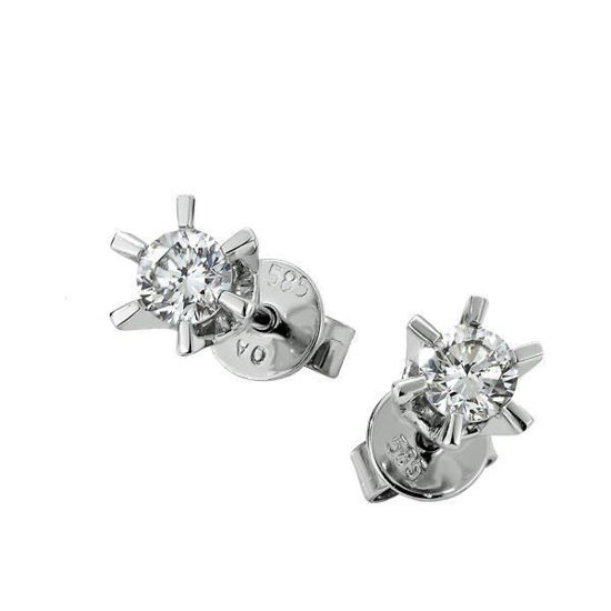 Sofia diamant øredobber med  2/0,37 ct W-Si-2120737