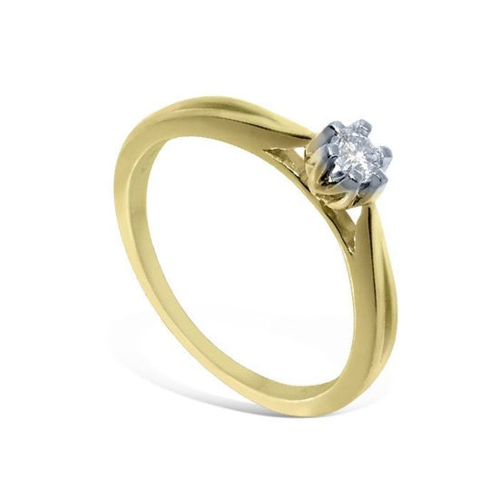 Diamantring Sitara med 0,08 ct W-Si-2221080