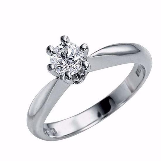 Diamantring - frierring Athene med 0,70 ct E-Si2-50352070