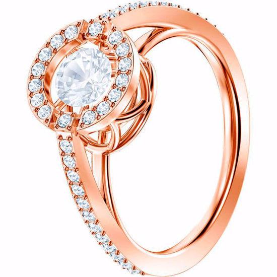 Swarovski ring Sparkling Dance Round - 5482703