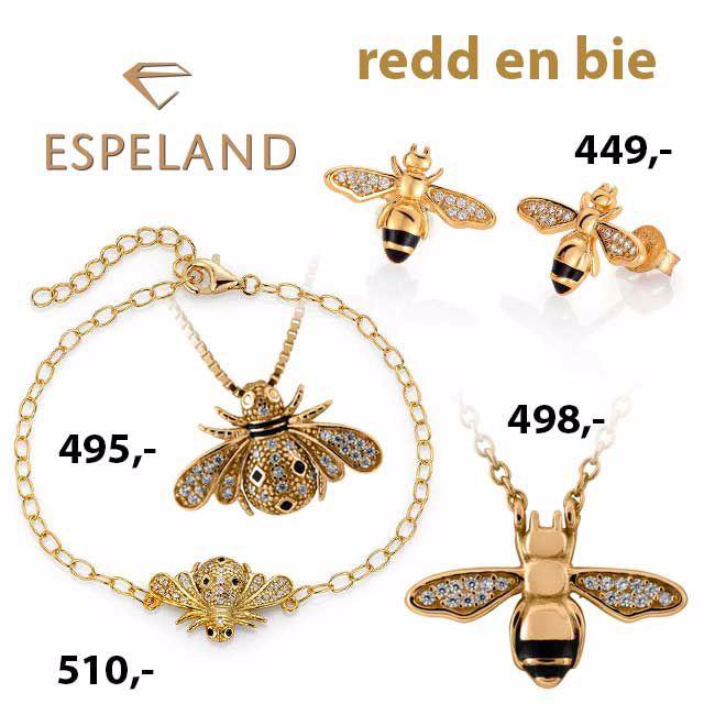 Smykker redd en bie
