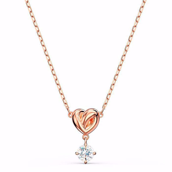 Swarovski smykke Lifelong Heart , Rose gold plating- 5516542