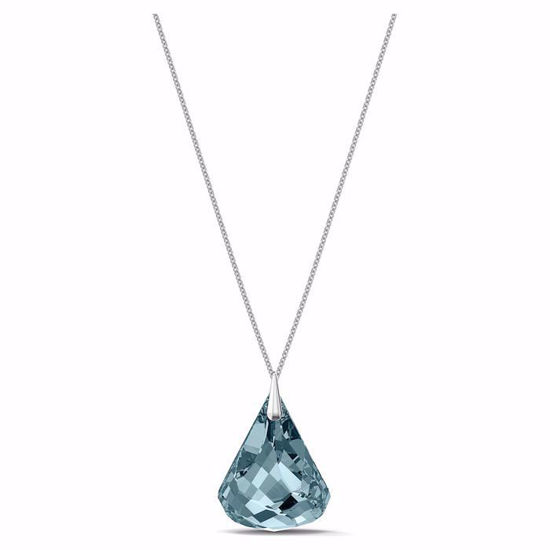 Swarovski smykke Spirit Necklace, blue - 5521034