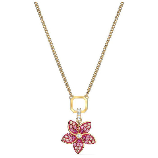 Swarovski smykke Tropical Flower, gult - 5524356