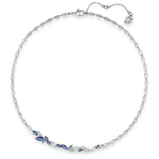 Rediger produktdetaljer - Swarovski collier Louison, blå - 5536547