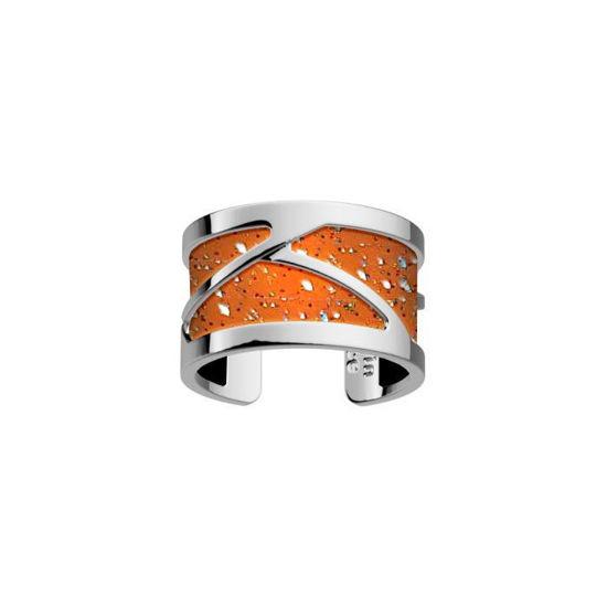 Ring Tresse 12 mm, hvitt, Les Georgettes -100105
