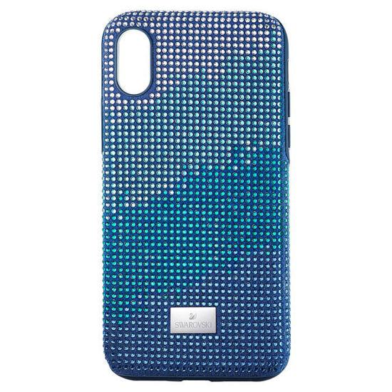 Swarovski  Iphone Xs Max deksel Crystalgram, blå - 5533972