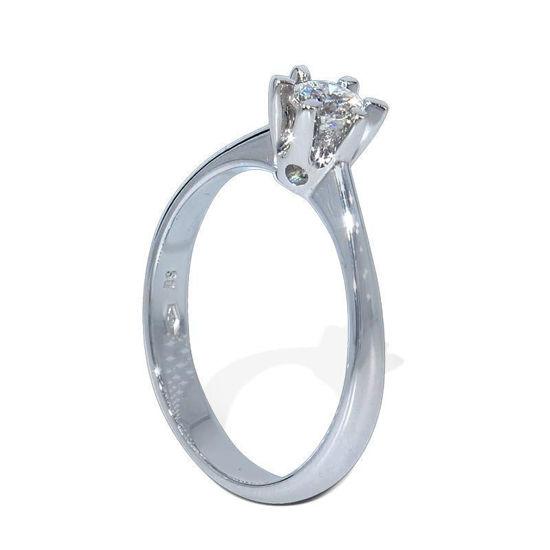 Diamantring forlovelsesring  Felicia 0,30 ct  D/E- Si2 - 2203030