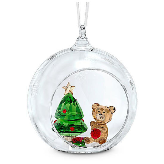 Swarovski figurer Ball Ornament, Christmas Scene - 5533942