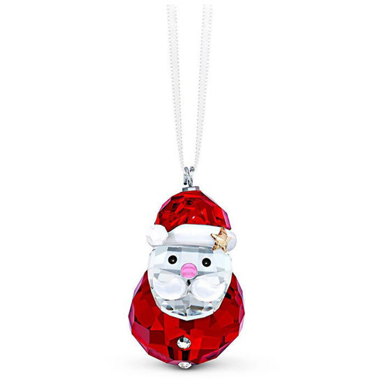Swarovski figurer Rocking Santa Claus Ornament - 5544533