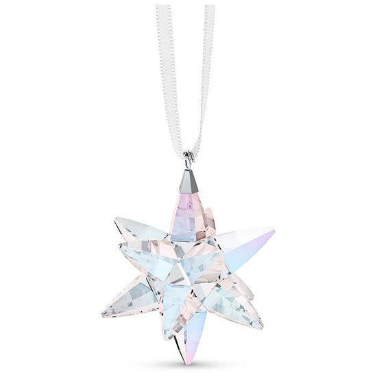 Swarovski figurer Star Ornament, Shimmer, small - 5551837