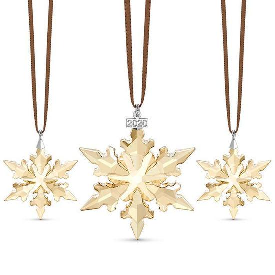 Swarovski figurer Festive Ornament Set 2020 - 5591360