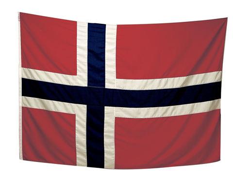 Bilde av Norsk flagg