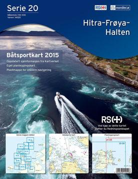 Bilde av Båtsportkart Serie 20 Hitra-Frøya-Halten
