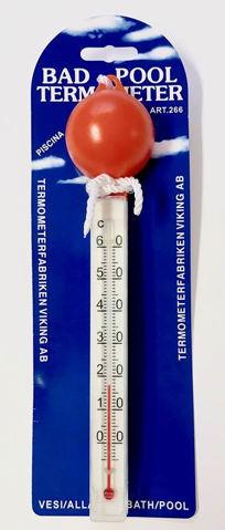 Bilde av Badetermometer, oransje topp, flytende