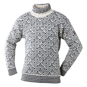 Bilde av Devold Svalbard Sweater High Neck offwhite/anth