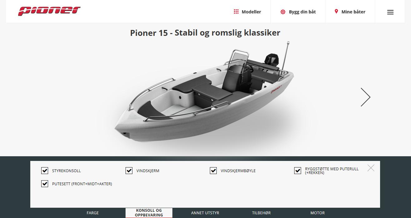 Bilde av Bygg din Pioner båt