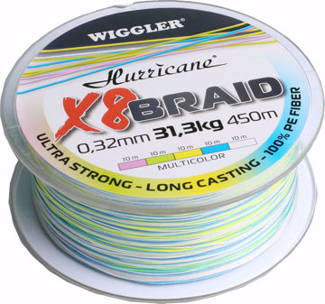 Bilde av Hurricane X8 Braid Multicolor 450m