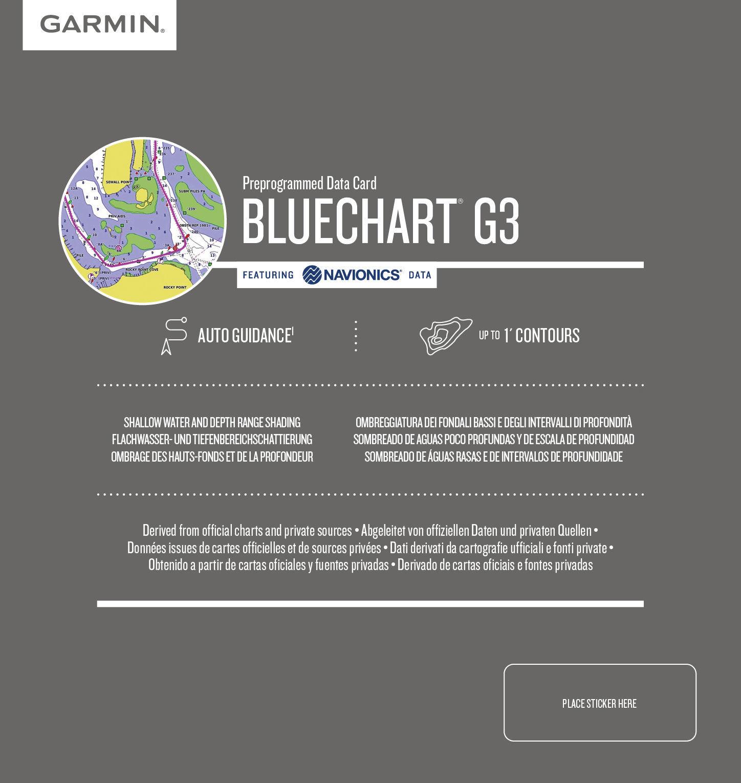 Bilde av BLUECHART G3 KART SOGNEFJORDEN-SVEFJORDEN