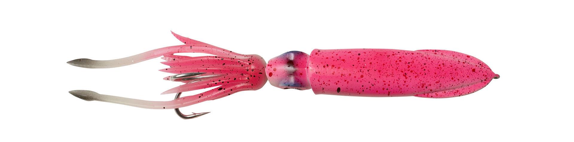 Bilde av Savage Gear 3D Swim Squid Jig Pink Glow pilk