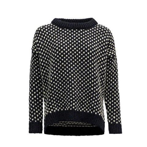 Bilde av Devold Nordsjø womans split seam sweater Navy